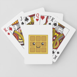 Cute Waffle Playing Cards