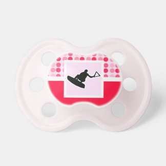 Cute Wakeboarder Pacifier