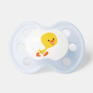 Cute Walking Cartoon Duckling Pacifier