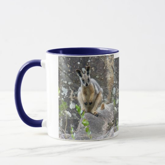 cute wallaby mug