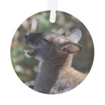 Cute Wallaby Ornament