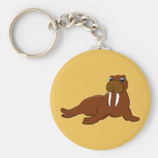 Cute walrus keychain