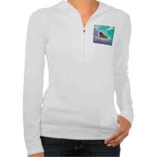 Cute walrus with water splash sweatshirts