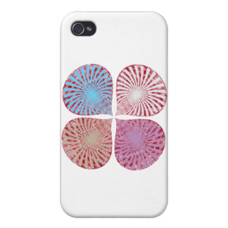 Cute Warm Energy Vibrations iPhone 4/4S Case