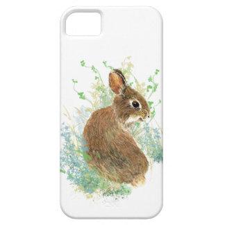 Cute Watercolor Bunny Rabbit Pet Animal iPhone 5 Covers
