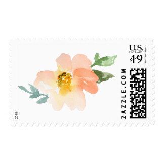 Cute Watercolor Flower Stamp