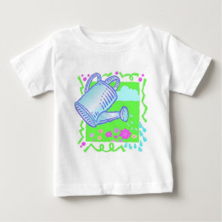 Cute Watering Can Design Baby T-Shirt