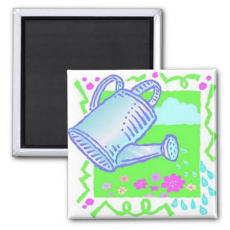 Cute Watering Can Design Magnets