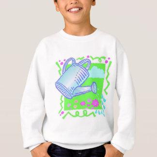 Cute Watering Can Design Sweatshirt