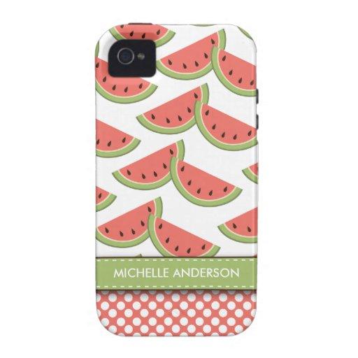 Cute Watermelon Case-Mate iPhone 4 Case