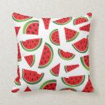 Cute Watermelon Home Decor Throw Pillow