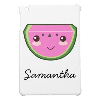 Cute Watermelon Illustration iPad Mini Cases