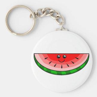 Cute Watermelon Keychain
