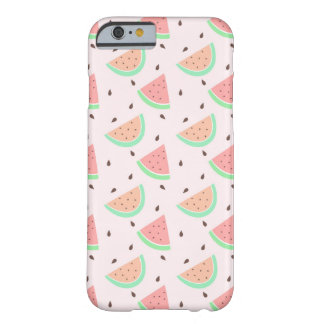 Cute Watermelon Pattern Barely There iPhone 6 Case