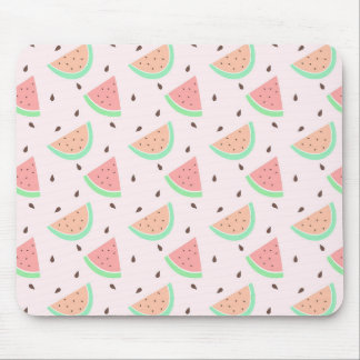 Cute Watermelon Pattern Mouse Pad