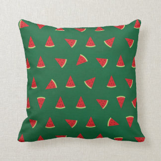 Cute watermelon Pictures Pattern Throw Pillows
