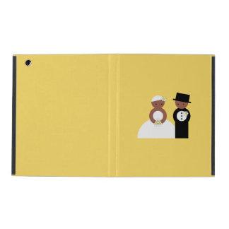 Cute wedding couple iPad cases