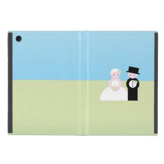 Cute wedding couple iPad mini covers