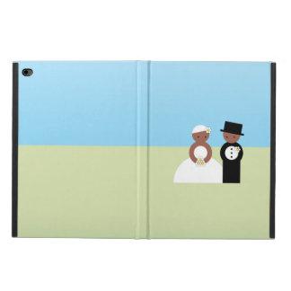 Cute wedding couple powis iPad air 2 case