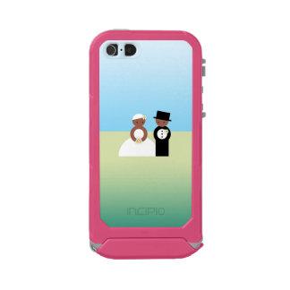 Cute wedding couple waterproof iPhone SE/5/5s case