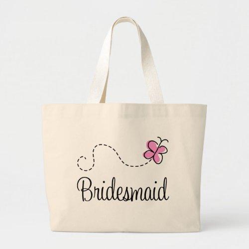 Cute Wedding Party Bridesmaid Tote Bag bag