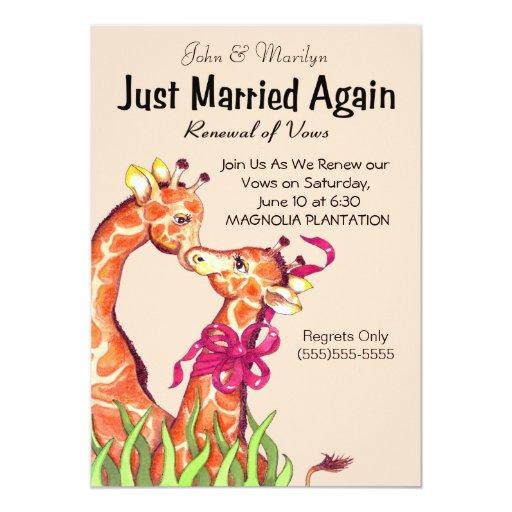 Cute Wedding Vows: Cute Wedding Renewal Vows Invitations