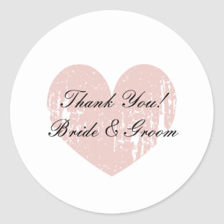 Cute wedding thank you stickers | envelope sealers