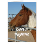 Cute Welcome Home Homecoming - Cowboy Parenting Card