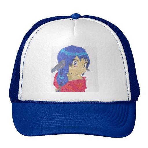 Cute werewolf girl hat