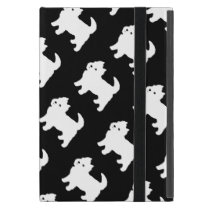 Cute West Highland Terrier - Westie Pattern Case For iPad Mini