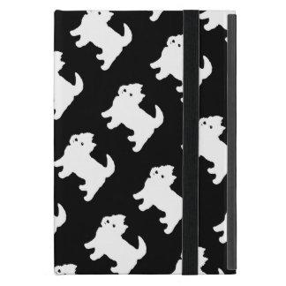 Cute West Highland Terrier - Westie Pattern Case For iPad Mini