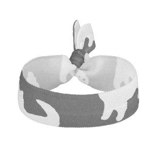 Cute West Highland Terrier - Westie Pattern Elastic Hair Tie