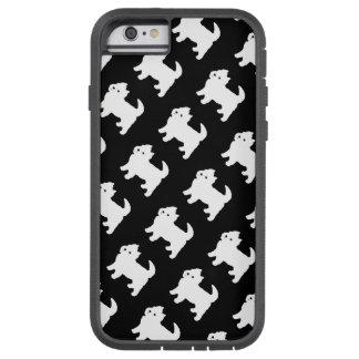 Cute West Highland Terrier - Westie Pattern Tough Xtreme iPhone 6 Case