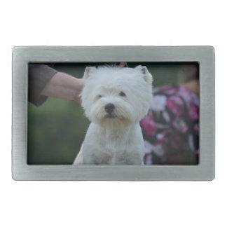 Cute West Highland White Terrier Belt Buckle