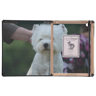 Cute West Highland White Terrier iPad Cases