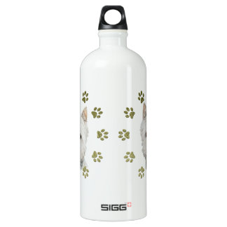 Cute West Highland White Terrier Dog and Paws SIGG Traveler 1.0L Water Bottle