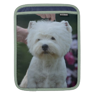 Cute West Highland White Terrier Sleeve For iPads