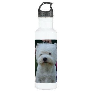 Cute West Highland White Terrier 24oz Water Bottle