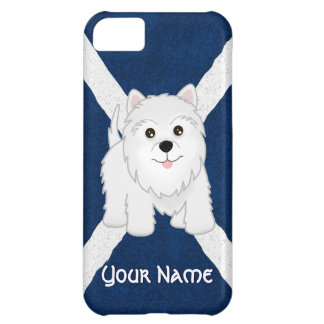 Cute West Highland White Terrier Puppy Dog iPhone 5C Cover