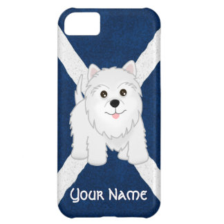 Cute West Highland White Terrier Puppy Dog Cover For iPhone 5C