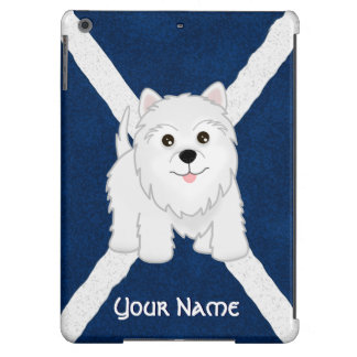 Cute West Highland White Terrier Puppy Dog iPad Air Covers