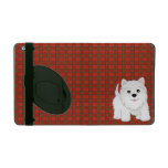 Cute West Highland White Terrier Puppy Dog iPad Cases