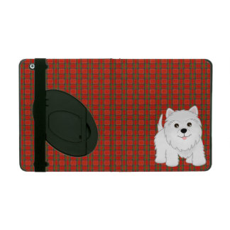 Cute West Highland White Terrier Puppy Dog iPad Cover