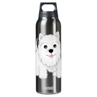 Cute West Highland White Terrier Puppy Dog SIGG Thermo 0.5L Insulated Bottle