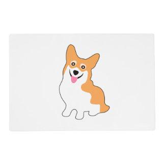 Cute West Pembroke Corgi Pup Placemat