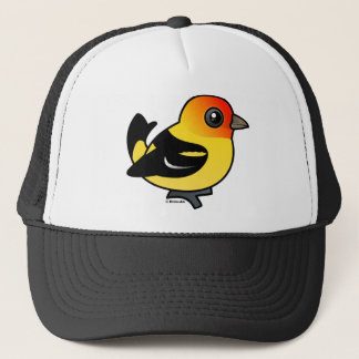 Cute Western Tanager Trucker Hat