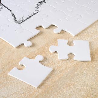 Cute Westie Dogs Art Jigsaw Puzzle