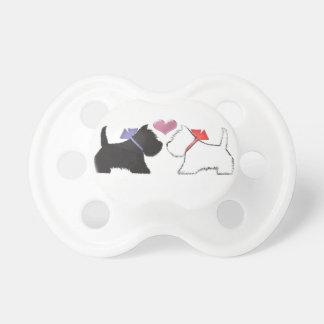 Cute Westie Dogs Art Pacifier