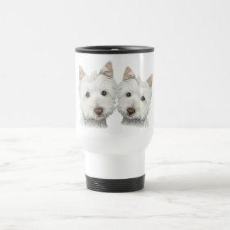 Cute Westie Dogs Coffee Mugs