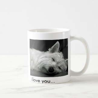Cute Westie (West Highland Terrier) Dog Mug